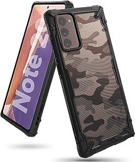 Ringke Cover for Samsung Galaxy Note 20 Case Hard Fusion-X Ergonomic Transparent Shock Absorption TPU Bumper [ Designed Ca...