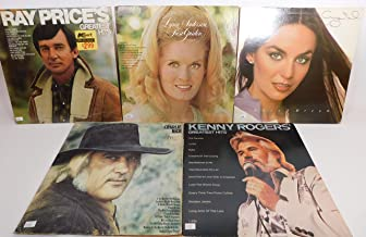 Classic Country Music Lot of 5 Vinyl Record Albums Ray Price and more