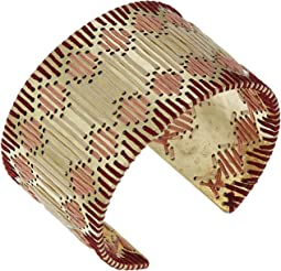 Threaded Statement Cuff Bracelet