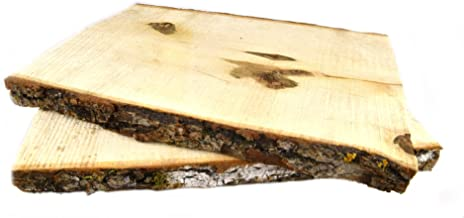 Woodlandia Basswood Plank 11 Inches Long x 7-9 Inches – 2 Pack