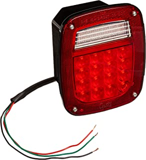 Grote G5092-5 Hi Count LED Stop Tail Turn Light (LH with License Window)
