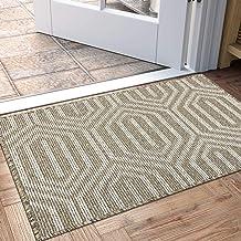 """Indoor Doormat, Non Slip Absorbent Resist Dirt Entrance Rug, 24""""x36"""" Machine Washable Low-Profile Inside Floor Door Mat"""