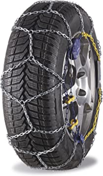 MICHELIN 92319 Snow Chains, M2 Extreme Grip Automatic 67, ABS and ESP Compatible, TÜV/GS and ÖNORM, 2 Pieces: image