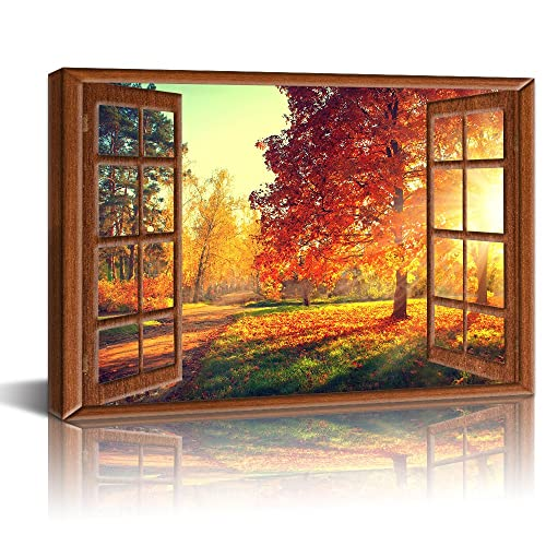 Wall Paintings With Windows Amazon Com