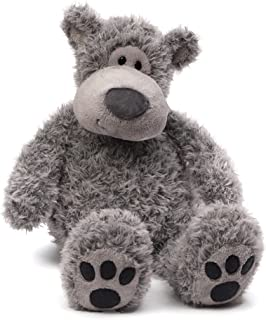GUND Slouchers Teddy Bear Stuffed Animal Plush, Gray, 20