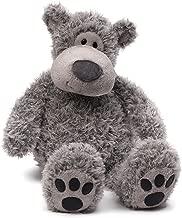 "GUND Slouchers Teddy Bear Stuffed Animal Plush, Gray, 20"""