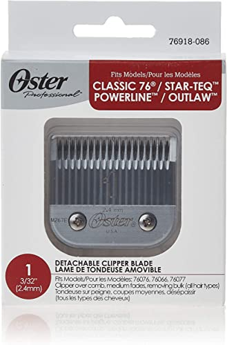 high quality Oster Professional 76918-086 popular Size 1 Hair online Clipper Replacement Blade 2.44 mm online sale