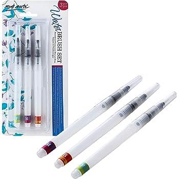 Meeden Lot de pinceaux professionnels /à pointe en caoutchouc silicone 3mm Nib Width 3mm Nib Width