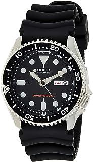 Seiko - Reloj Analógico Automático para Hombre con Correa de Caucho – SKX007K1