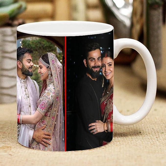 ME & YOU 1 Photo Personalize Ceramic Coffee Mug