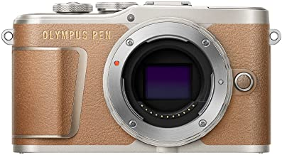 Olympus PEN E-PL9 Body only with 3-Inch LCD (Honey Brown)