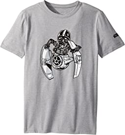 Under Armour Kids - Stretch Woven Tie Pilot Short Sleeve Tee (Big Kids)