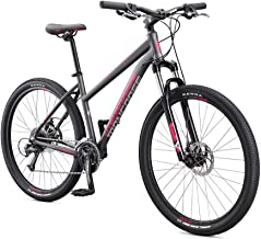 Mongoose Switchback Adult Mountain Bike, 8-21 Speeds, 27.5-Inch Wheels, Aluminum Frame, Disc...