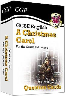 GCSE English - A Christmas Carol Revision Question Cards