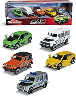 Simba Majorette SUV Gift Pack, 5 Pieces