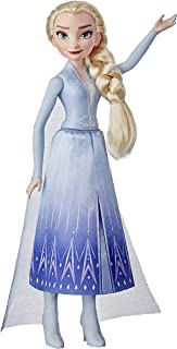 Disney E90225X0 Frozen 2 Elsa Fashion Doll With Long Blonde Hair, Skirt, and Shoes, Elsa Toy Inspired by Disney's Frozen 2
