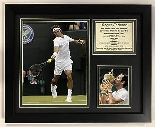 Legends Never Die Roger Federer - Framed 12