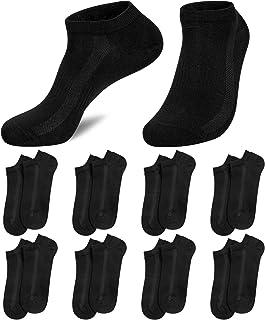 8 Pairs Mens Ankle Socks Trainer Sneaker Socks for Men Low Cut Cotton Breathable Mens Socks for Running Walking Outdoor Sp...
