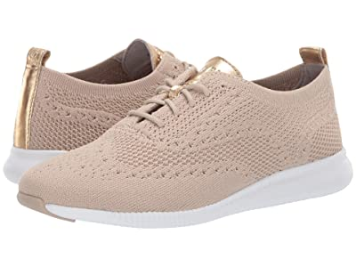 Cole Haan 2.Zerogrand Stitchlite Oxford (Rye Knit/Optic White) Women