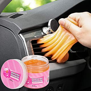 Cleaning Gel, Car Cleaning Kit Car Detailing Kit Car Cleaner Interior Auto Detailing Tools Air Vent Cleaner Car Accessories Universal Dust Cleaner Gel Mud Cleaner Remover for PC, Keyboard