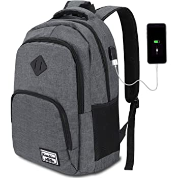 Laptop Backpack,Backpack for High School,College Backpack with USB Charging Port for Men and Women