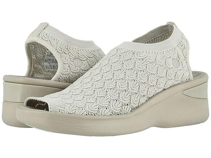 Bzees  Secret (Sand Crochet Knit) Womens Sandals