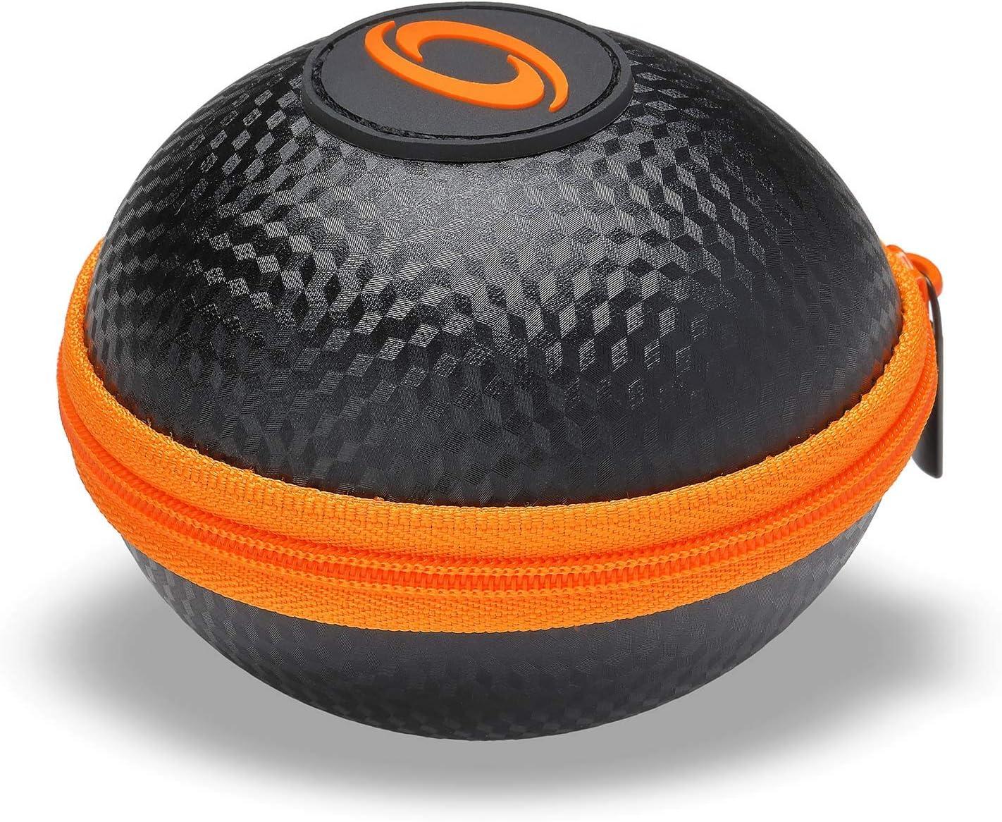 Powerball Kernpower® - Funda original para casi todos los modelos originales, resistente a los golpes, con cremallera, antracita/naranja