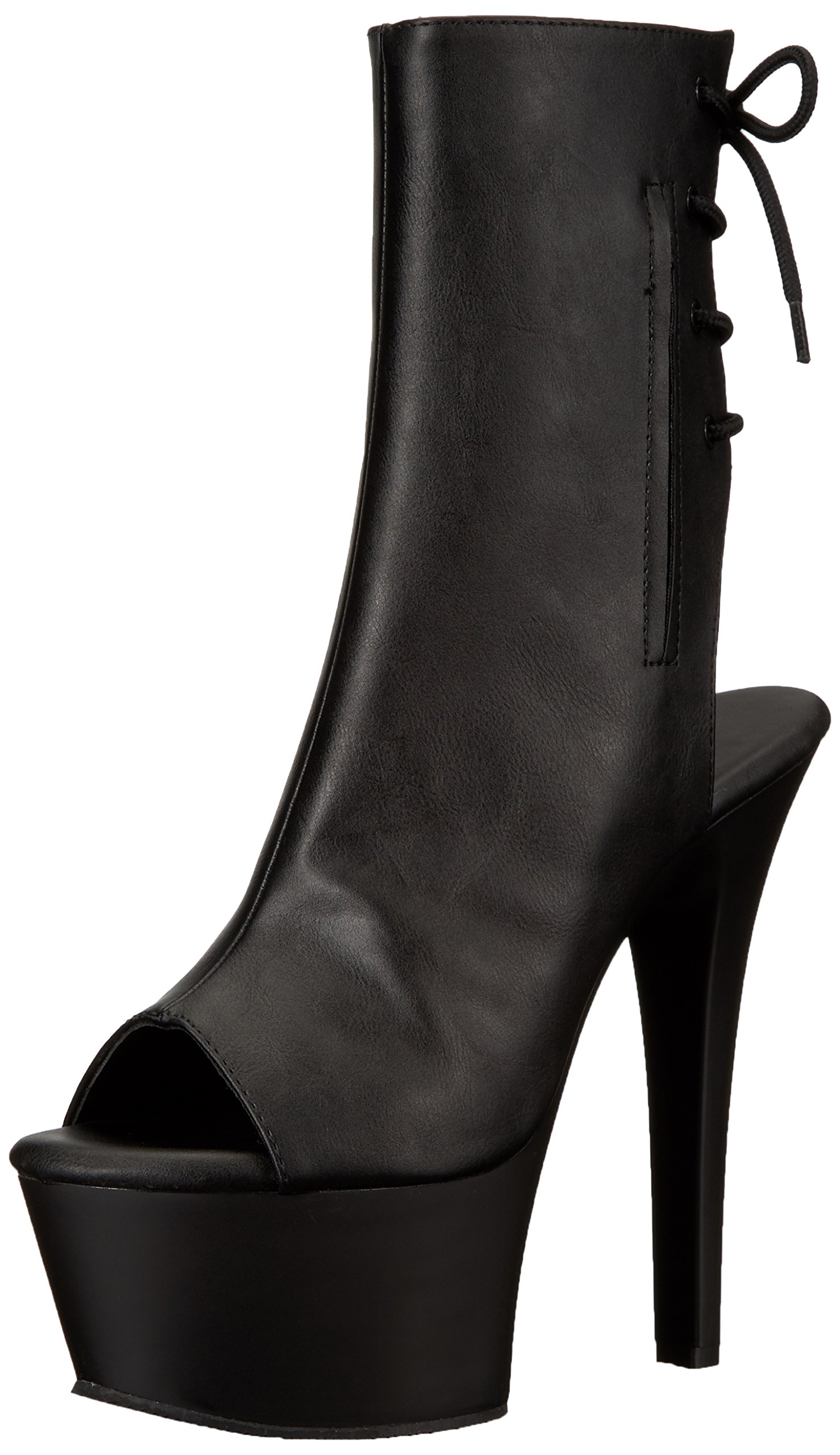 Pleaser Womens Asp1018 Bootie Leather