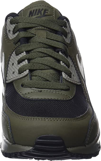 Nike Air Max 90 Essential 537384-309, Baskets Homme, Vert (Cargo ...