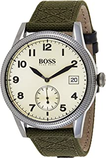 Hugo Boss Mens Quartz Watch, Chronograph Display and Textile Strap 1513670