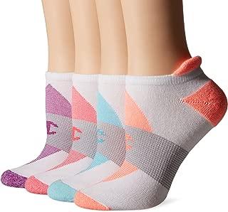 Champion Women's Double Dry 4-Pack Performance Heel Shield Socks