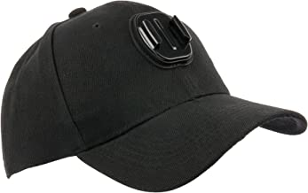 DURAGADGET Baseball Fashion Sun Cap with Action Camera Mount - Suitable for Use with GULAKI G300702
