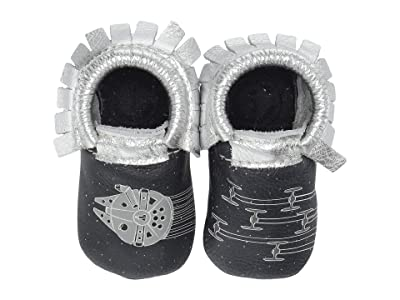 Freshly Picked Star Wars Space Chase Moccasin (Infant/Toddler) (Navy/Silver) Kid