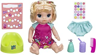 Baby Alive E0609 - Potty Dance Baby- Talking Blonde Girl Incl Accessories- Nuturing Dolls and Toys for Kids, Girls, Boys- ...