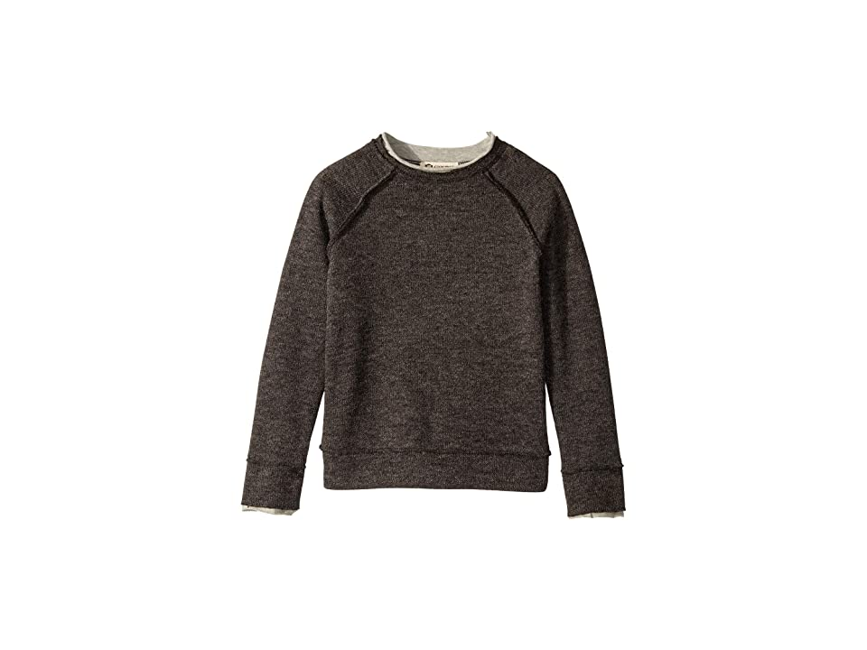 Appaman Kids Extra Soft Jackson Roll Neck Pullover Sweater (Toddler/Little Kids/Big Kids) (Charcoal) Boy