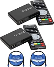 Sponsored Ad - Micca Speck G2 1080p Full-HD Ultra Portable Digital Media Players (2-Pack) Bundle with Blucoil 2-Pack of 8-... photo