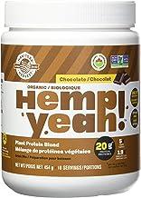 MANITOBA HARVEST Hemp Yeah! Chocolate Protein Powder, 454 GR