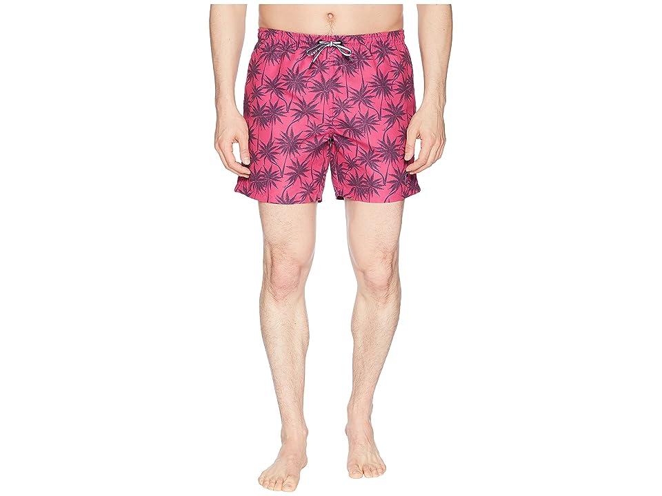 BOSS Hugo Boss Piranha Swim Trunk (Open Pink) Men