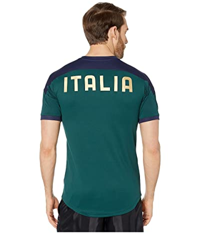 PUMA FIGC Training Jersey (Ponderosa Pine/Peacoat) Men
