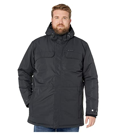 Columbia Big Tall Rugged Pathtm Parka (Black) Men
