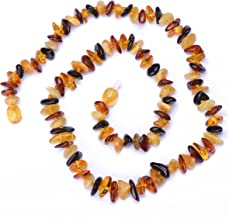 Genuine Amber - Baltic Amber Necklace for Adults to Choose - Plastic Screw Clasp - Authentic Handmade Baltic Amber Necklac...