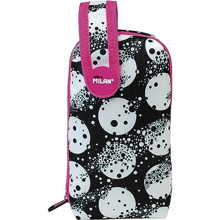 MILAN Kit Un Estuche con Contenido Moon Estuches, 19 cm, Blanco Y Negro