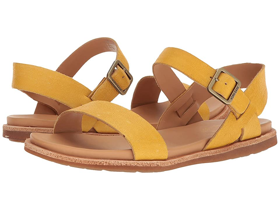 Kork-Ease Yucca (Yellow Full Grain Leather) Women