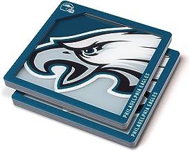 YouTheFan NFL Philadelphia Eagles Logo Series Coaster