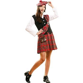 My Other Me Me-202160 Disfraz de escocesa para mujer, M-L (Viving ...