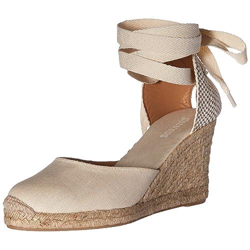 b98cb502b5ac Soludos Women s Tall Wedge (90mm) Sandal