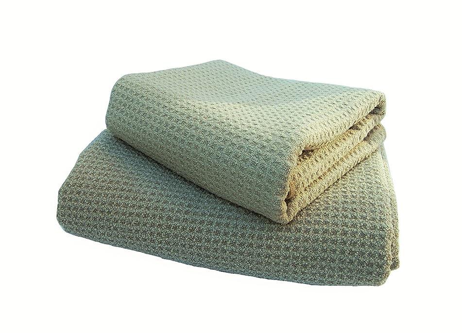 Fina Ultra Absorbent Microfiber Waffle towel SET - ONE SET of Body(29