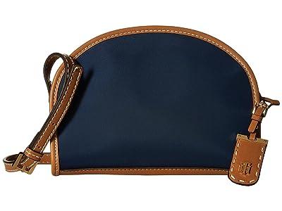 Tommy Hilfiger Julia Half Moon Crossbody (Navy) Cross Body Handbags