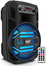 Portable Bluetooth PA Speaker System - 300W Rechargeable Outdoor Bluetooth Speaker Portable PA...