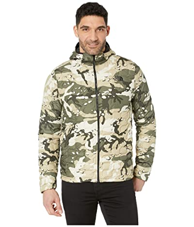 The North Face Thermoball Hoodie (Peyote Beige Woodchip Camo Print) Men